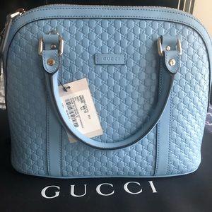 NEW Gucci Microguccissima mini dome satchel